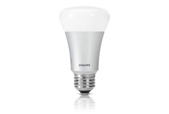 Philips Hue White and Color Ambiance - Bombilla LED E27 individual Alexa