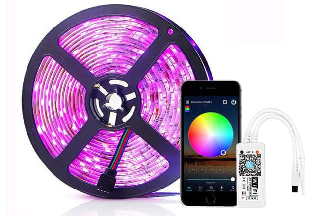 Simfonio tira de led wifi Alexa