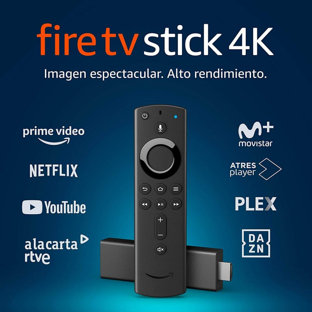 Amazon Fire TV Stick 4K Ultra HD con mando por voz Alexa de última generación | Reproductor de contenido multimedia en streaming